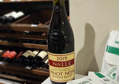Nalle 2019 Pinot Noir Hopkins Ranch Deli Sandwiches from Big Johns Market